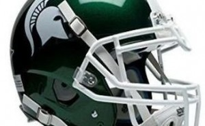casco de futbol americano michigan state